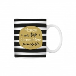 Mug Maman au top Grand-Mère formidable